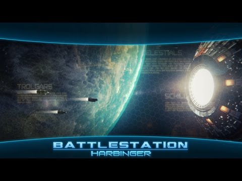A 4x Space Strategy Battlestation Harbinger In Ios And Android