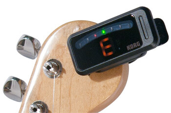 How to Use Clip-On Guitar Tuner